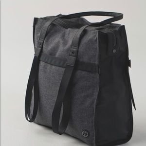Find Your Bliss Bag - GUC-Grey & Black